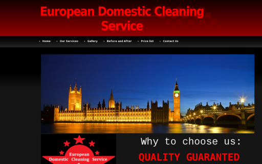 Access europeandomesticcleaningservice.com using Hola Unblocker web proxy