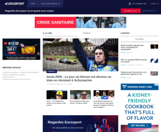 Access eurosport.fr using Hola Unblocker web proxy