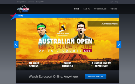Access eurosportplayer.no using Hola Unblocker web proxy