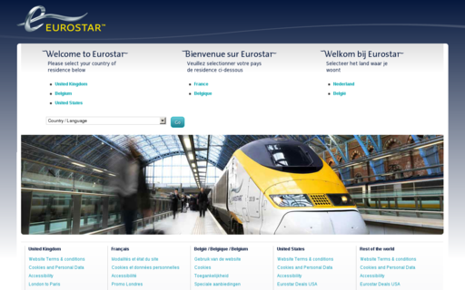 Access eurostar.com using Hola Unblocker web proxy