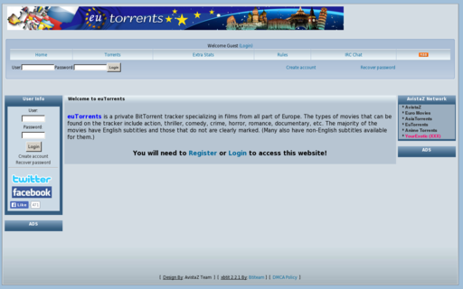 Access eutorrents.ph using Hola Unblocker web proxy