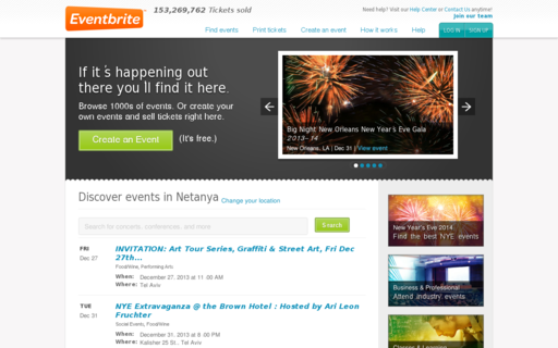 Access eventbrite.com using Hola Unblocker web proxy