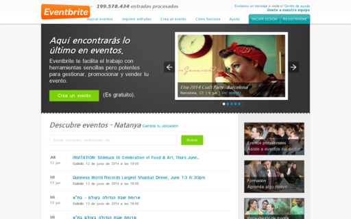 Access eventbrite.es using Hola Unblocker web proxy