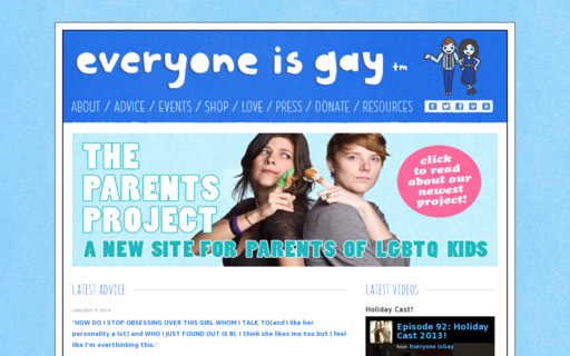 Access everyoneisgay.com using Hola Unblocker web proxy