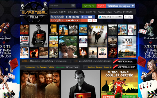 Access evrenselfilm.net using Hola Unblocker web proxy