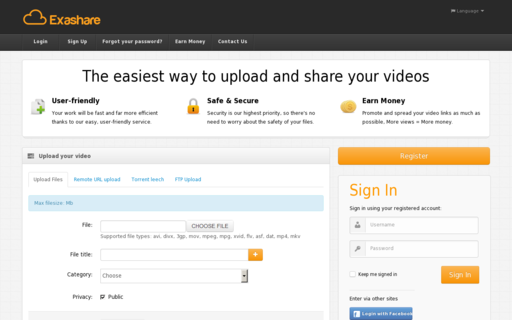 Access exashare.com using Hola Unblocker web proxy