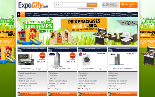 Access expecity.com using Hola Unblocker web proxy