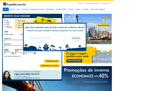 Access expedia.com.br using Hola Unblocker web proxy
