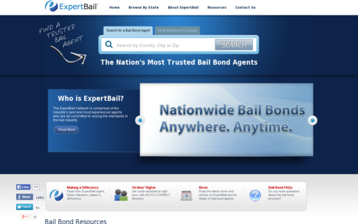 Access expertbail.com using Hola Unblocker web proxy