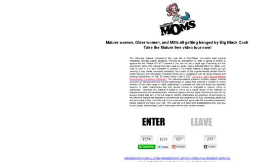 Access exploitedmoms.com using Hola Unblocker web proxy