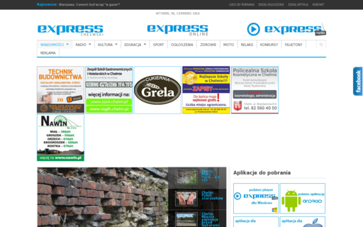 Access expressonline.pl using Hola Unblocker web proxy