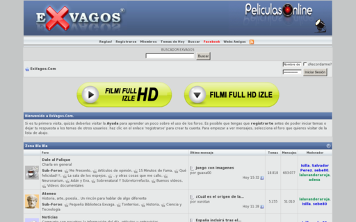 Access exvagos.com using Hola Unblocker web proxy