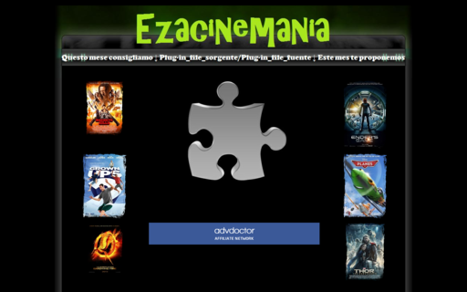Access ezacinemania.com using Hola Unblocker web proxy