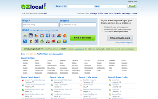 Access ezlocal.com using Hola Unblocker web proxy