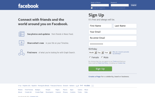 Access facebok.com using Hola Unblocker web proxy