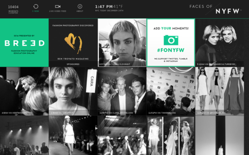 Access facesofnyfw.com using Hola Unblocker web proxy