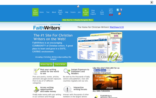 Access faithwriters.com using Hola Unblocker web proxy
