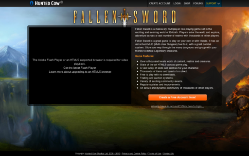 Access fallensword.com using Hola Unblocker web proxy