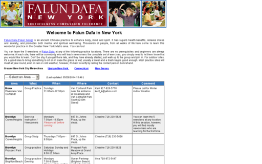 Access falun-ny.net using Hola Unblocker web proxy