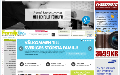 Access familjeliv.se using Hola Unblocker web proxy