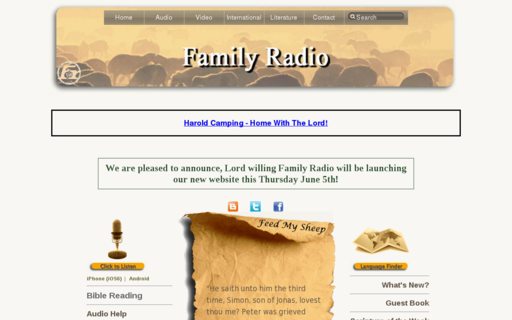 Access familyradio.com using Hola Unblocker web proxy