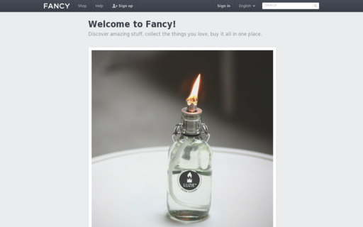 Access fancy.com using Hola Unblocker web proxy