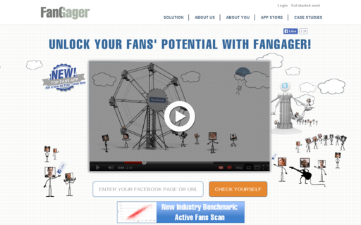 Access fangager.com using Hola Unblocker web proxy
