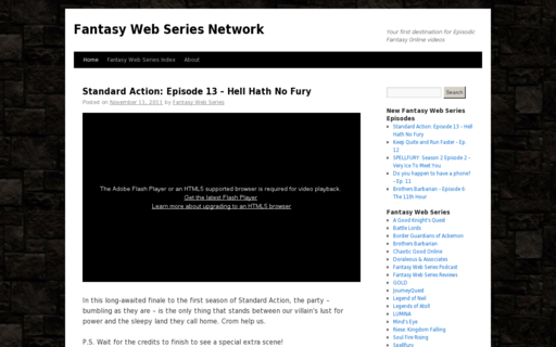 Access fantasywebseries.net using Hola Unblocker web proxy