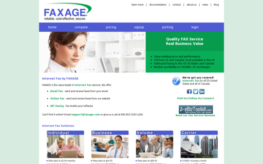 Access faxage.com using Hola Unblocker web proxy