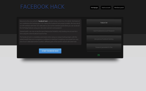 Access fbhackz.com using Hola Unblocker web proxy