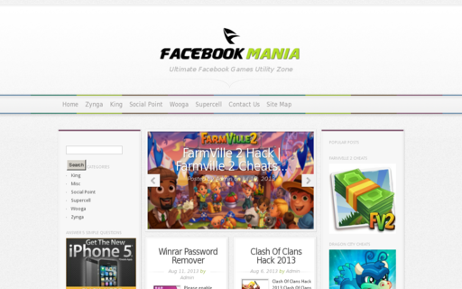 Access fbmaniaz.com using Hola Unblocker web proxy