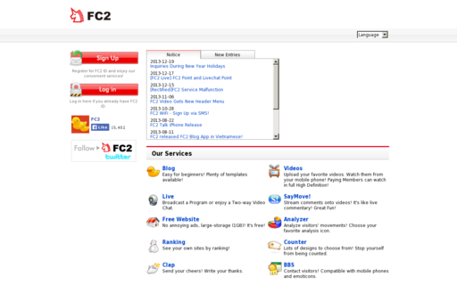 Access fc2.com using Hola Unblocker web proxy