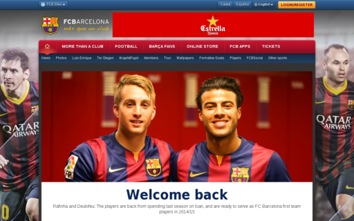 Access fcbarcelona.com using Hola Unblocker web proxy