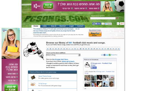 Access fcsongs.com using Hola Unblocker web proxy