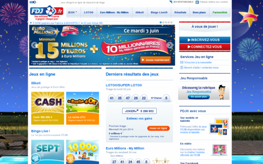 Access fdj.fr using Hola Unblocker web proxy