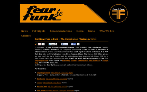 Access fearlefunk.com using Hola Unblocker web proxy