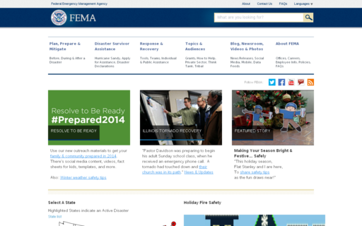 Access fema.gov using Hola Unblocker web proxy