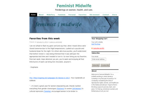 Access feministmidwife.com using Hola Unblocker web proxy