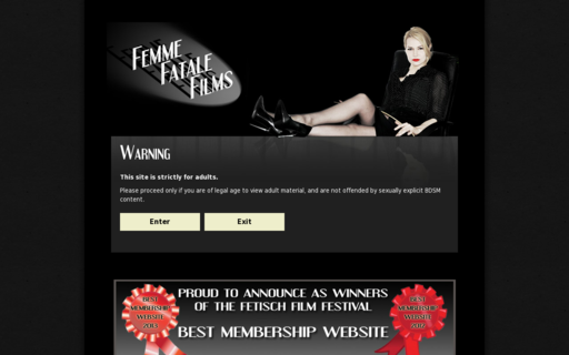 Access femmefatalefilms.com using Hola Unblocker web proxy