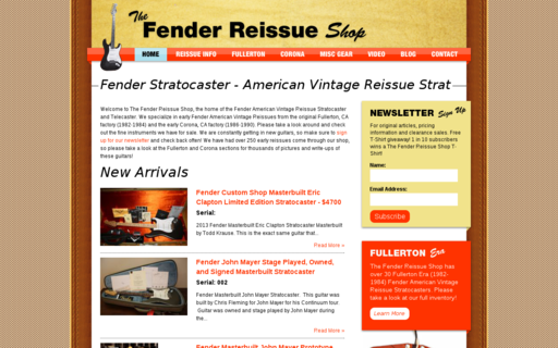 Access fenderreissue.com using Hola Unblocker web proxy