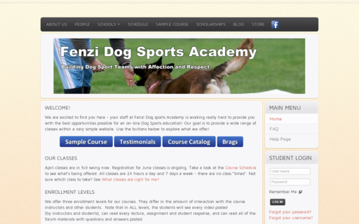 Access fenzidogsportsacademy.com using Hola Unblocker web proxy