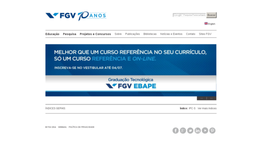 Access fgv.br using Hola Unblocker web proxy