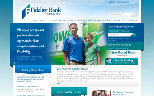Access fidelitybanknc.com using Hola Unblocker web proxy