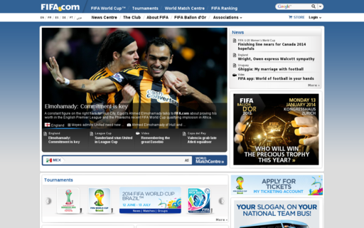 Access fifa.com using Hola Unblocker web proxy