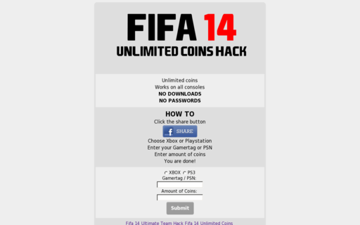 Access fifa14unlimited.com using Hola Unblocker web proxy