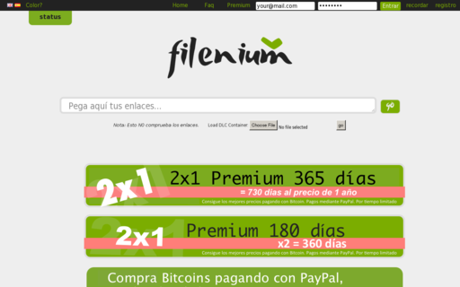 Access filenium.com using Hola Unblocker web proxy