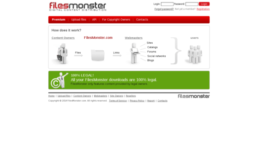 Access filesmonster.com using Hola Unblocker web proxy