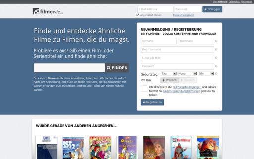 Access filmewie.de using Hola Unblocker web proxy