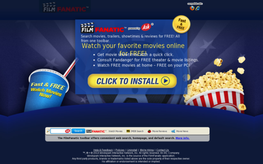 Access filmfanatic.com using Hola Unblocker web proxy