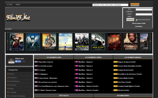 Access filmvf.net using Hola Unblocker web proxy